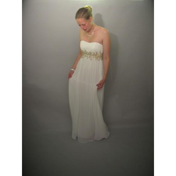 kjole blå eller guld