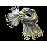 Tørklæde Ikat-grå