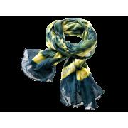 Tørklæde, tie-dye - Pacific