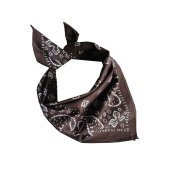 Bandana - Dark brown