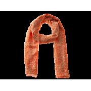 Tørklæde m/dyreprint - Orange