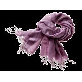 Tørklæde uld / silke - lilla