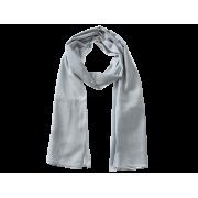 Tørklæde, ensfarvet - Lysegrå
